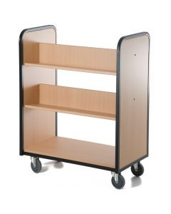 Mobile Book Trolley