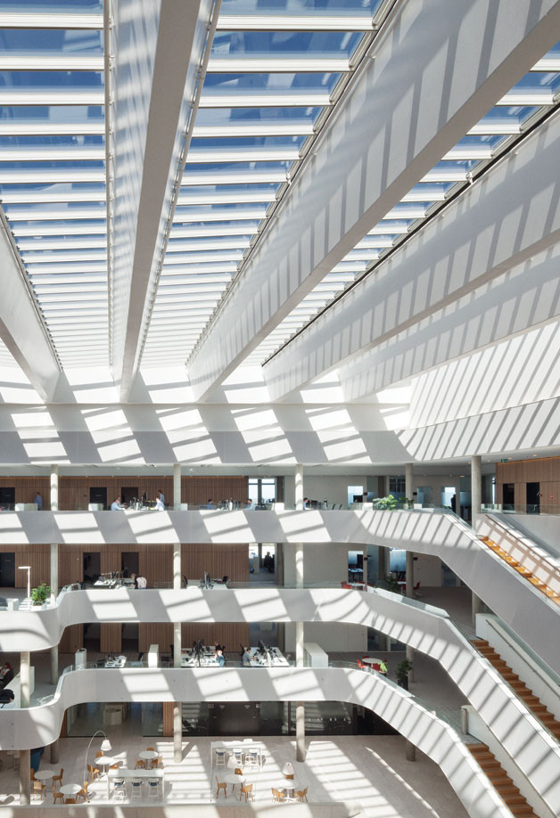 Modular Skylights-Atrium Longlight/Ridgelight