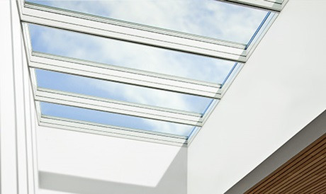 Modular Skylights- Pull your ceiling aside