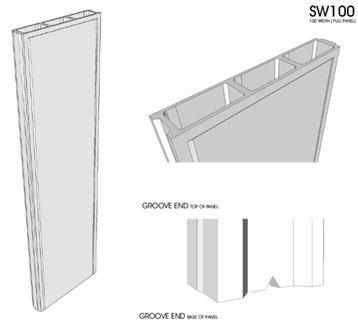 Modular wall panel Standard