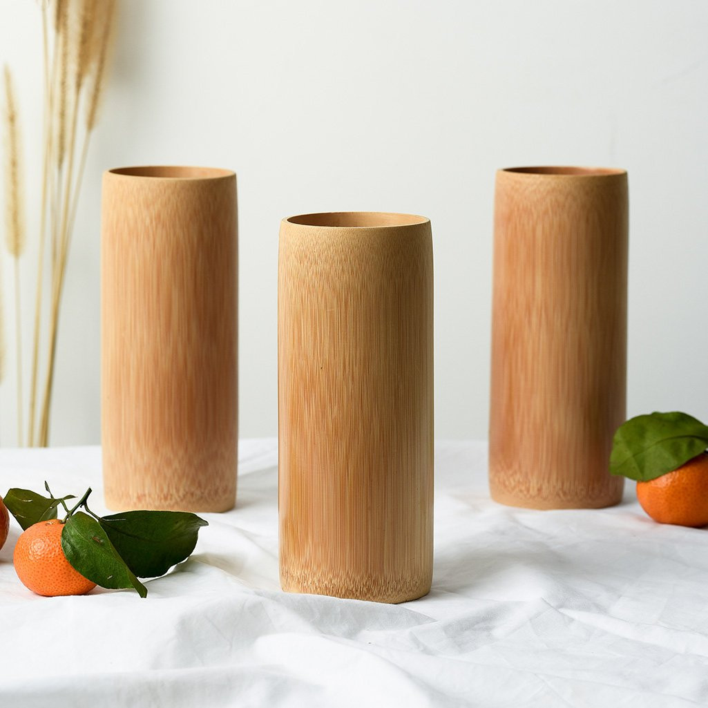 Natural Bamboo Drinking Cup