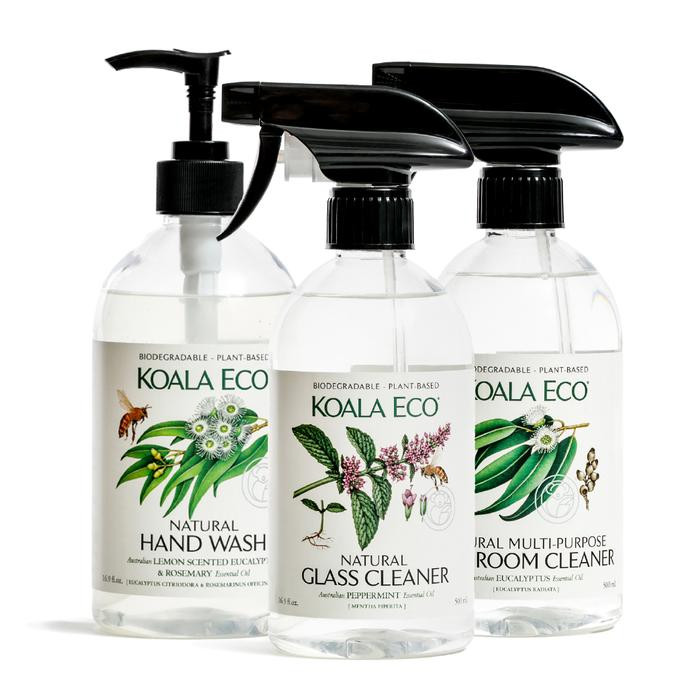 Natural Bathroom Cleaning Collection