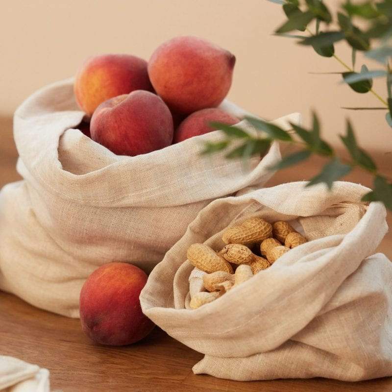 Natural Cotton Produce Bags