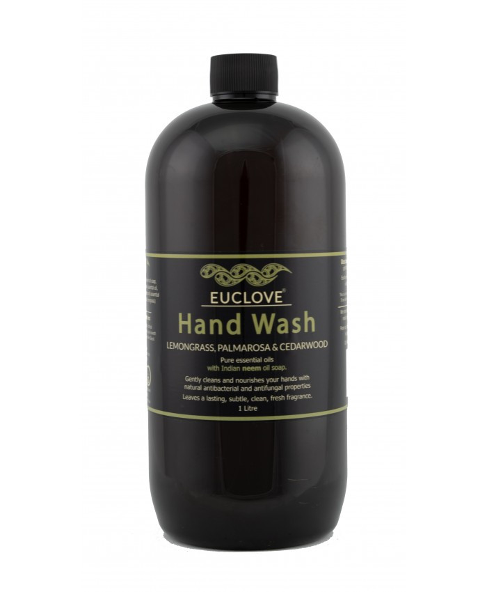 Natural Hand Wash with Lemongrass, Palmarosa And Himalayan Cedarwood 1 Litre refill