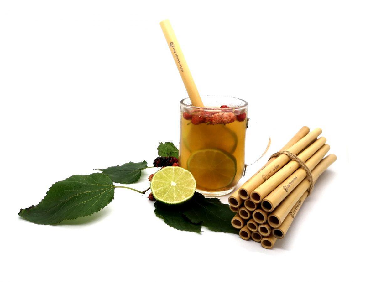 Natural & Handmade Bamboo Straws