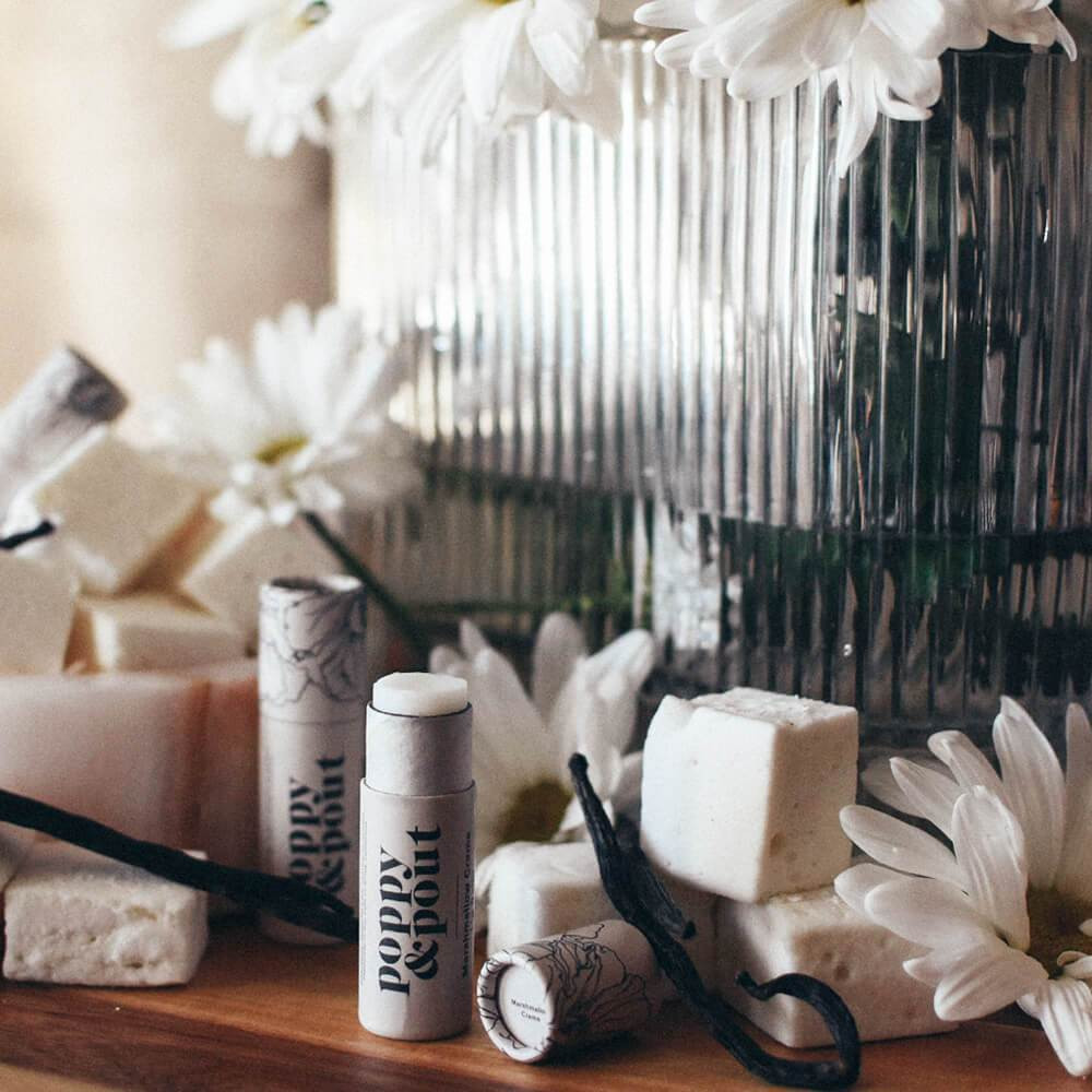 Natural Lip Balm by Poppy & Pout