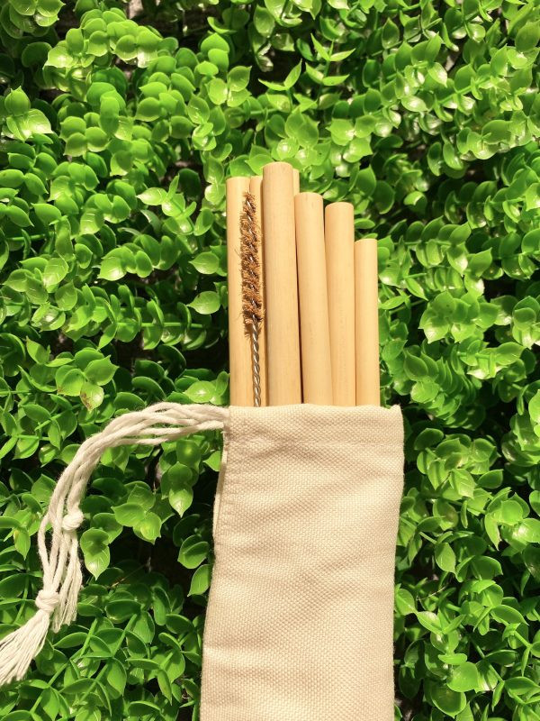 Natural Organic Bamboo Drinking Straw
