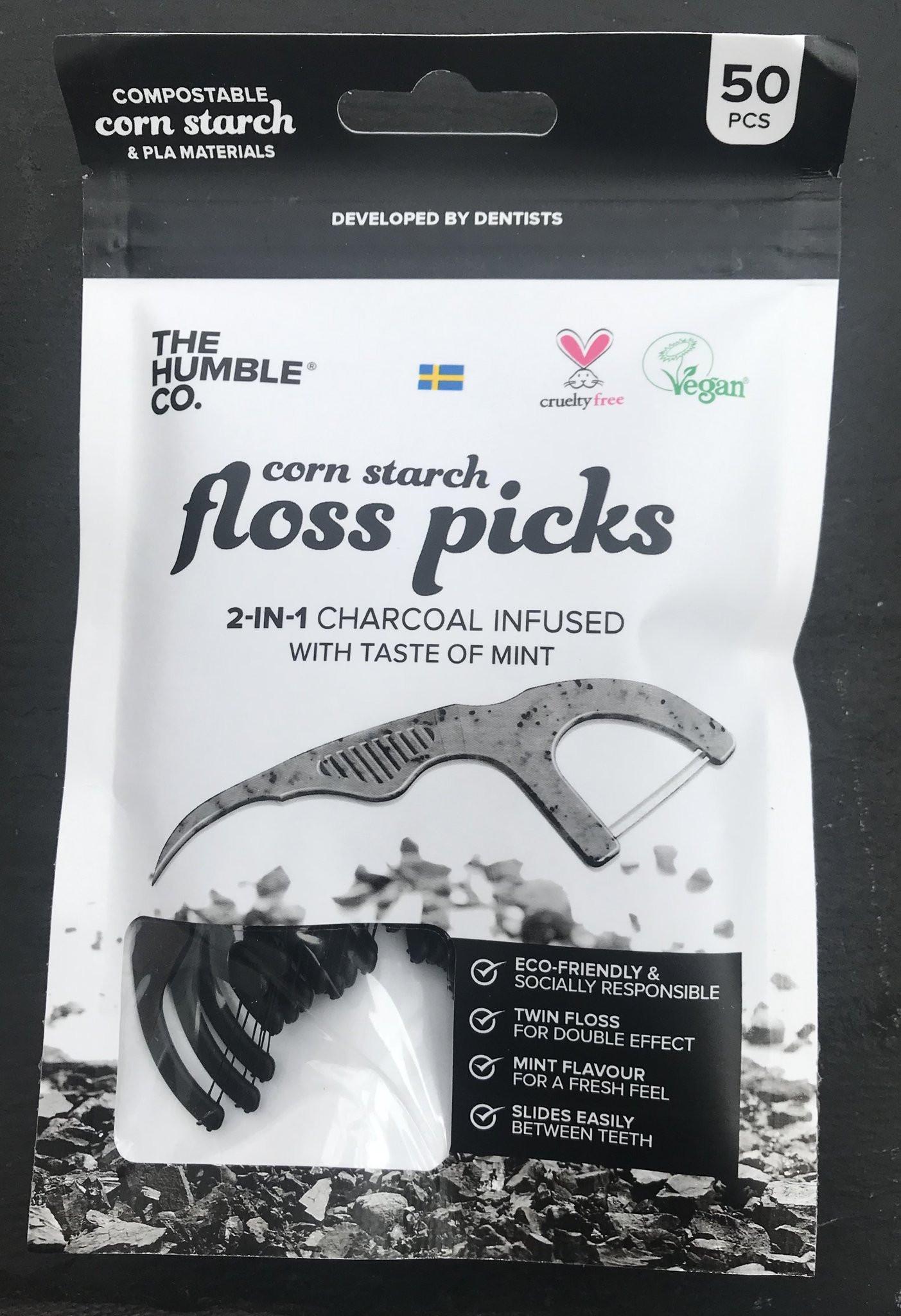 Natural Vegan Floss Picks