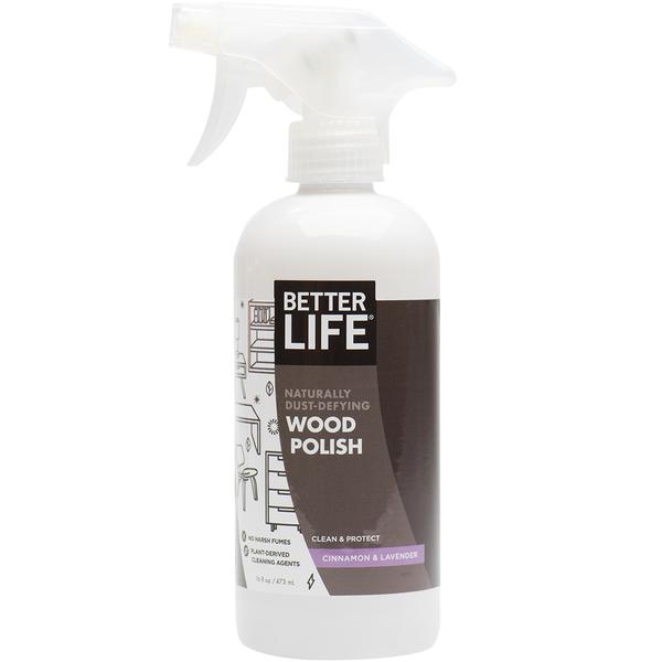 Naturally Dust-Defying Wood Polish