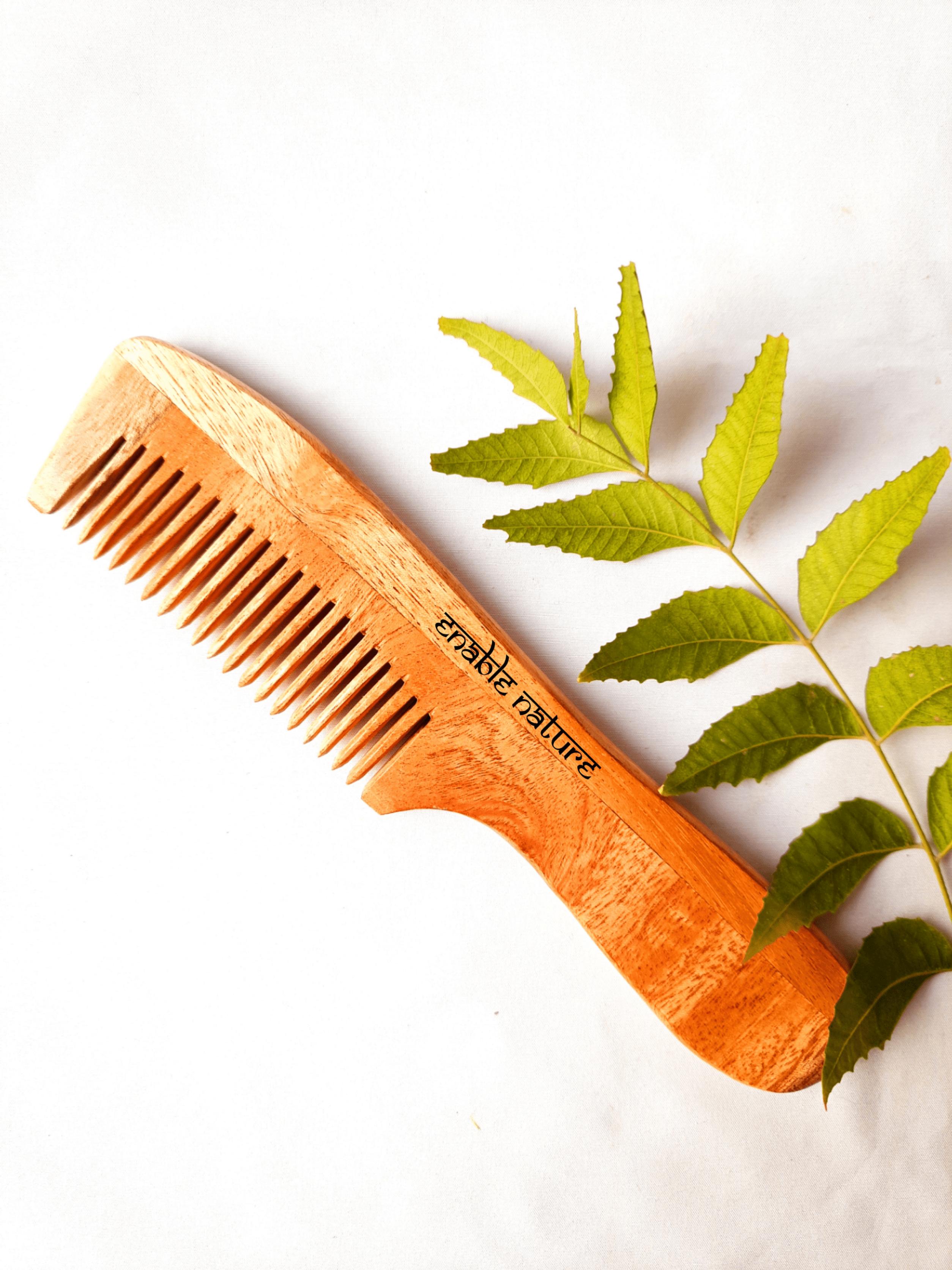 Neem Wood Handle Comb