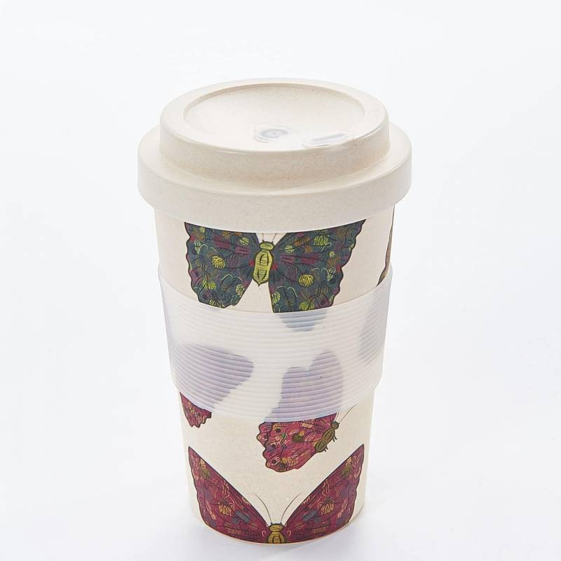 NEUTRAL BUTTERFLY BAMBOO CUP PACK OF 3