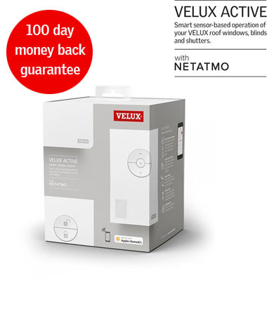 New VELUX ACTIVE indoor climate control