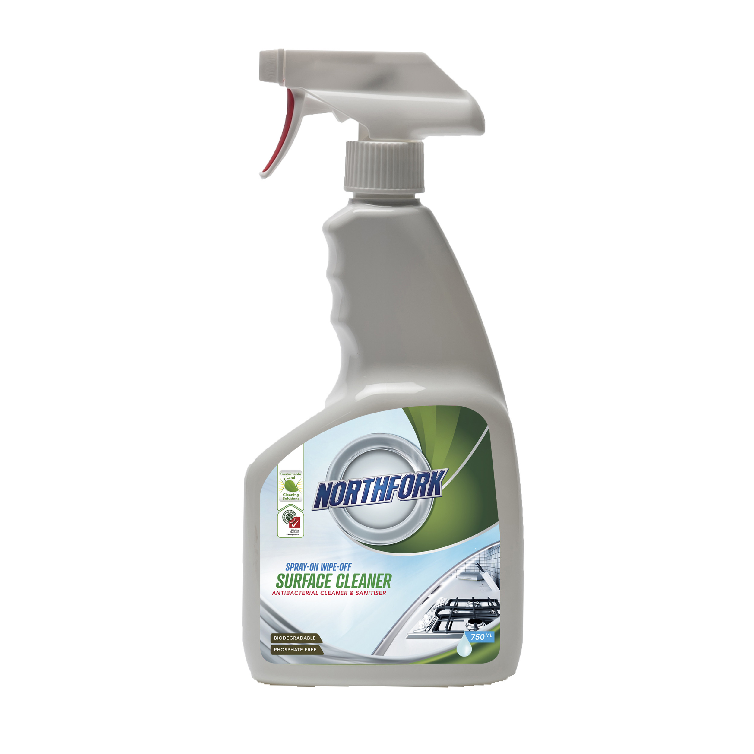 Northfork GECA Spray on Wipe Off Cleaner