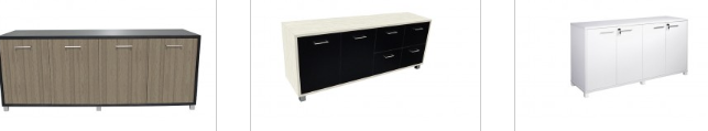 Office Buffet-Credenza Cabinets