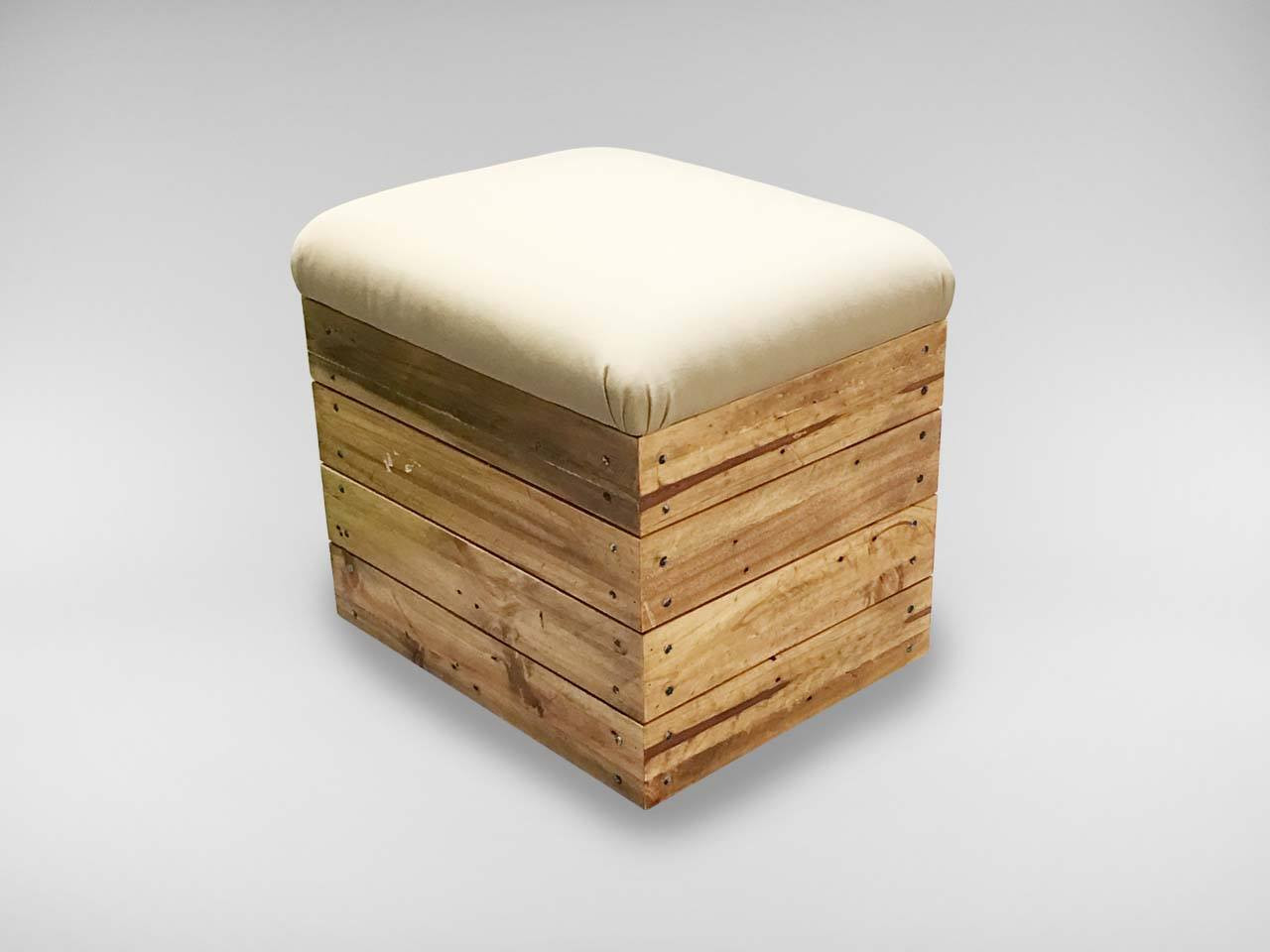 One Seater Pouf