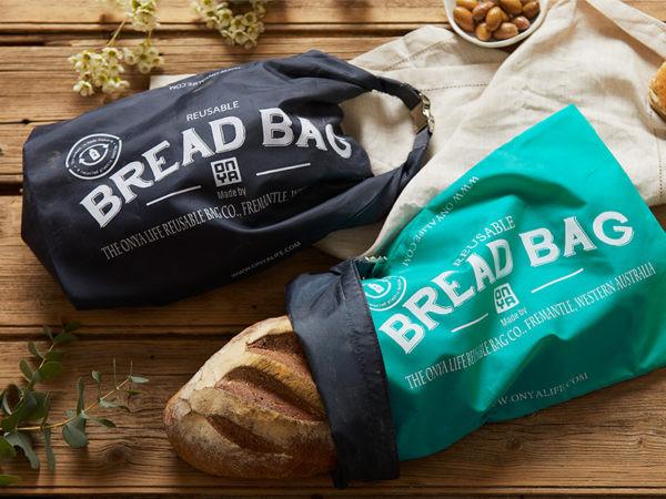 Onya reusable bread bag