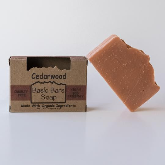Organic Cedarwood Body Bar