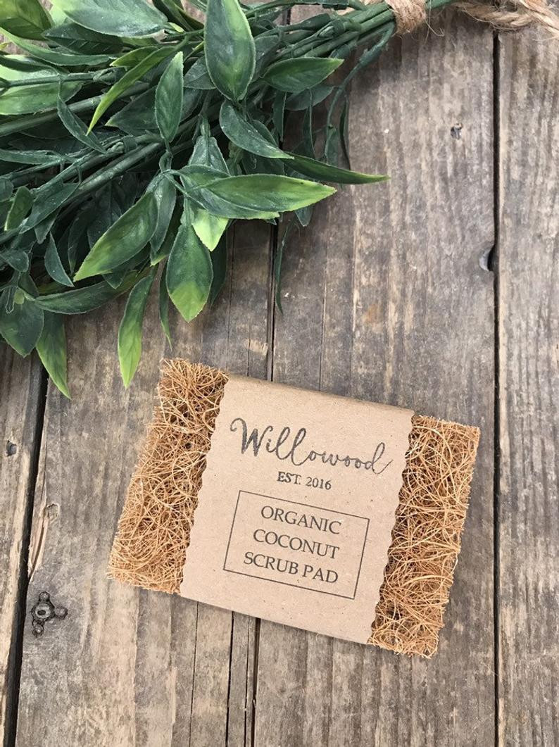 Organic Coconut Fibre Scrub Pad Cleaning