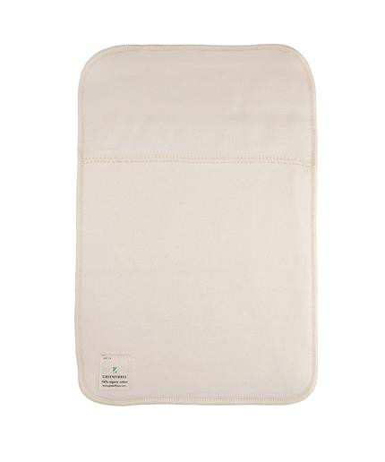 Organic cotton hot water bottle cover