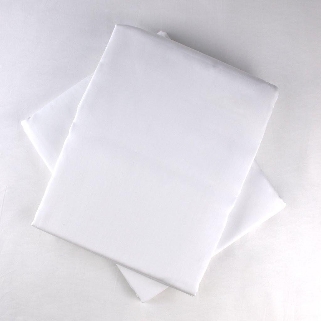 Organic Flat Sheet -White