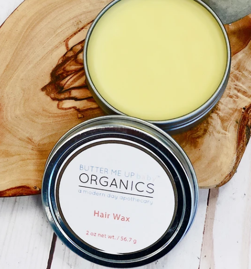 Organic Hair Wax - Chemical-Free Hair Styling Wax