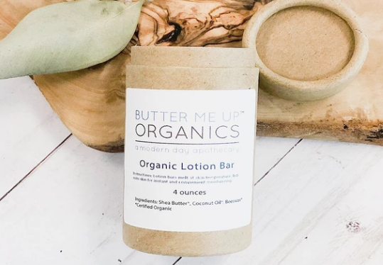 Organic Shea Butter and Coconut Oil Lotion