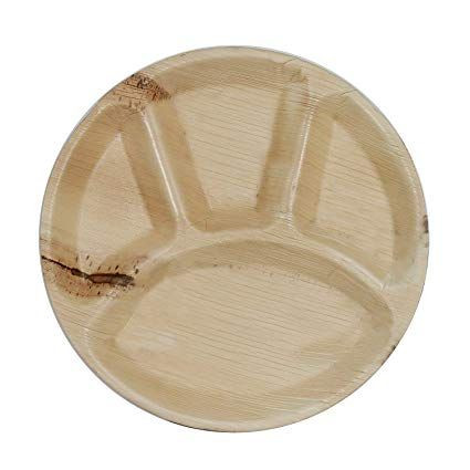 Palm Leaf Plate Round