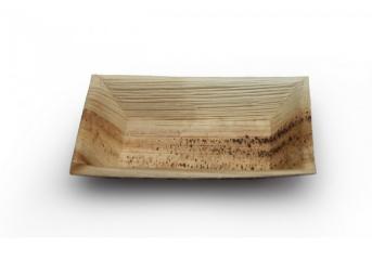 PALM-QUADRA-PALM LEAF RECTANGULAR PLATE 5×7″ (200)