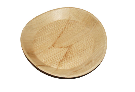 PALM-RD10P-PALM LEAF ROUND PLATE 10″