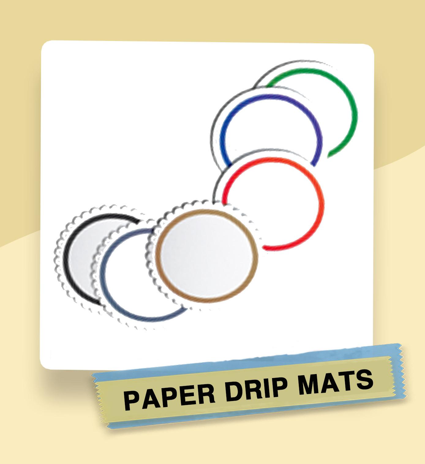 Paper Drip Mats