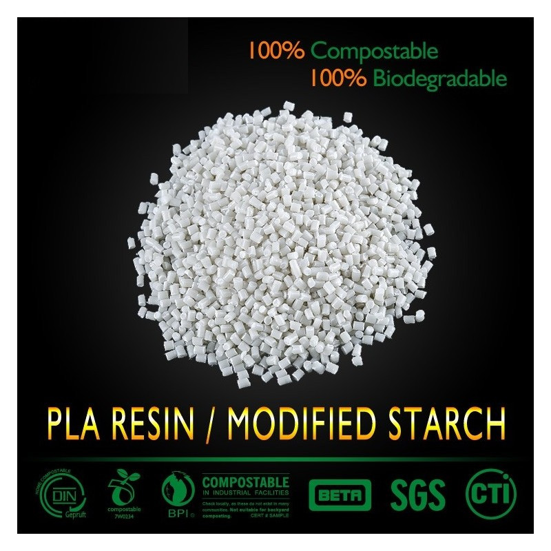 PBAT/PLA Compostable plastic raw material to produce compostable bags