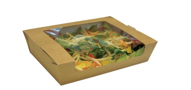 PFB-SALBOXL- NEW LARGE SALAD BOX WITH WINDOW (250)
