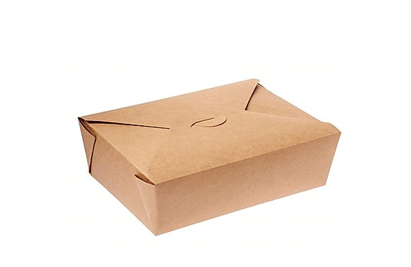 PLA (corn starch) Lined Kraft Containers