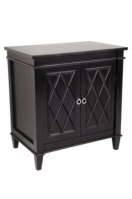 Plantation Buffet - Black 150x40x80cmh