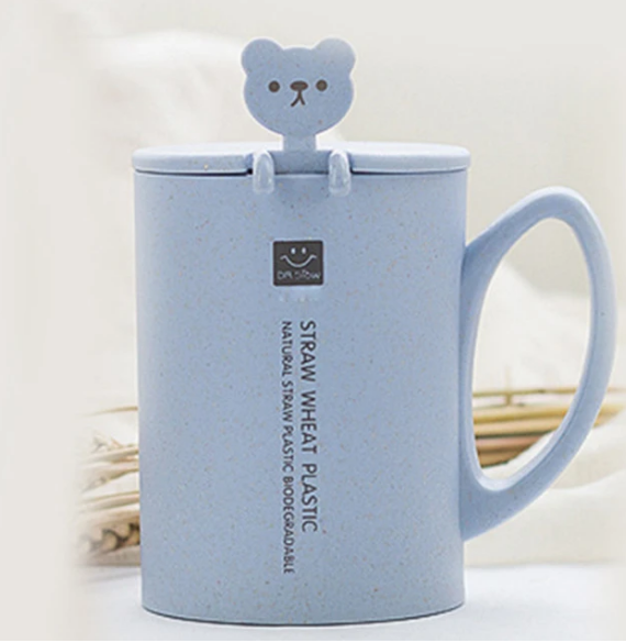 Plastic Free Baby Biodegradable Wheat Straw Toddler Training Cup