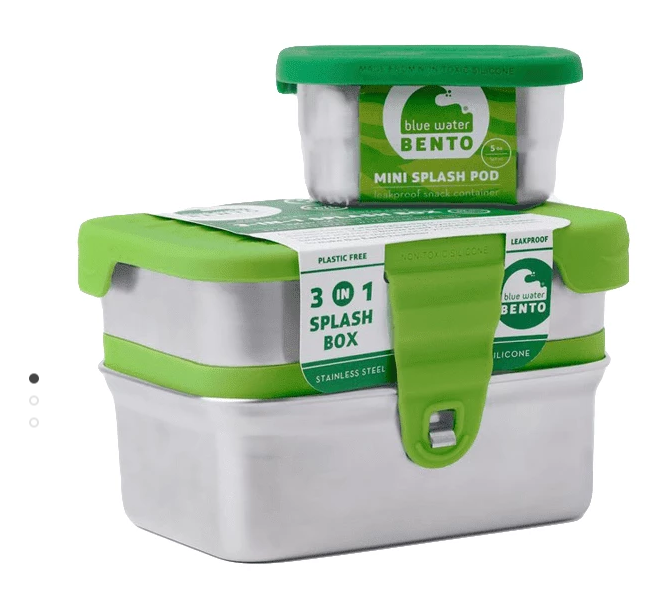 Plastic-free lunch packer