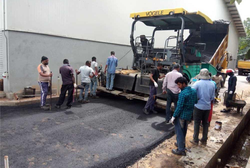 PMAC Road Laying