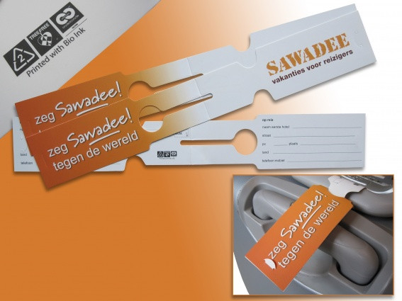 Point of sale cards, tags and leaflets