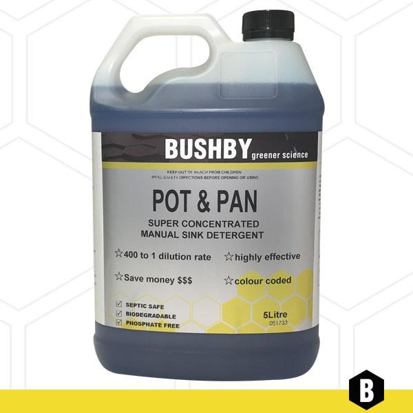 Pots and Pans – Sink Detergent