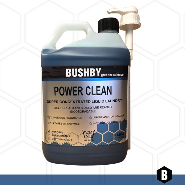 Power Clean – Liquid Laundry Super Concentrate