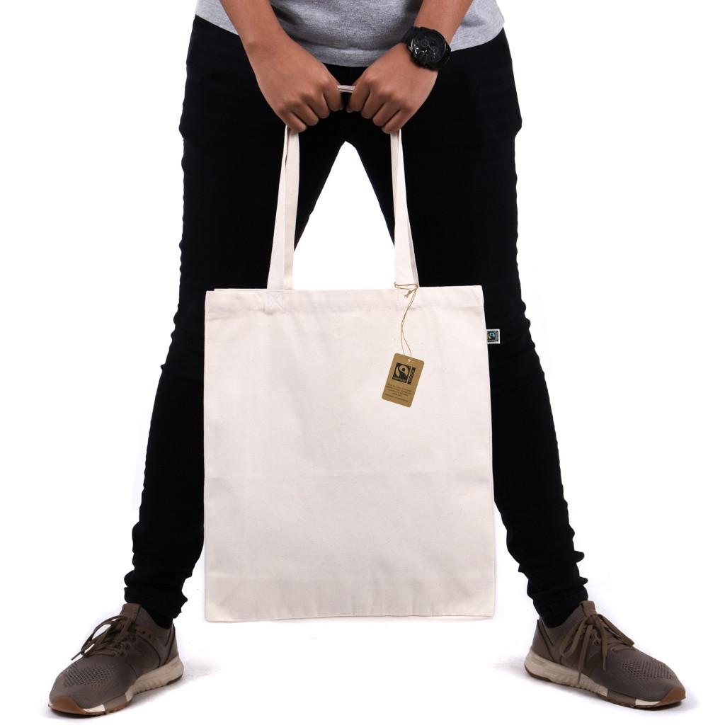 Premium Fairtrade & Organic Luxury Shopper Bag