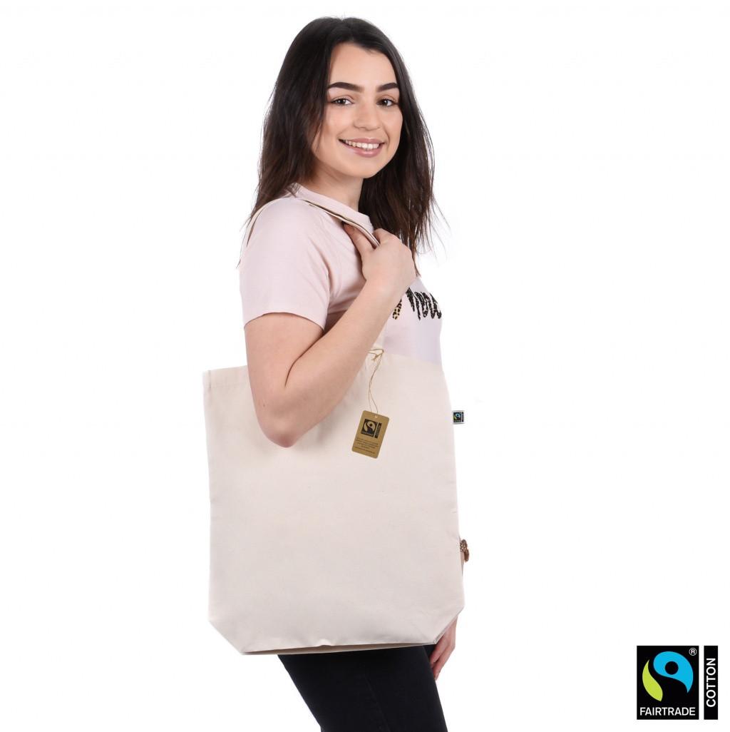 Premium Fairtrade & Organic Shopper Bag