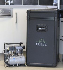 Pulse Air Permeability Measurement System