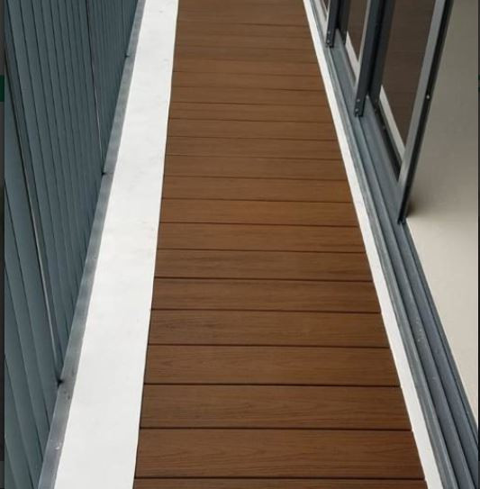 PVC decking  95% recycled materials