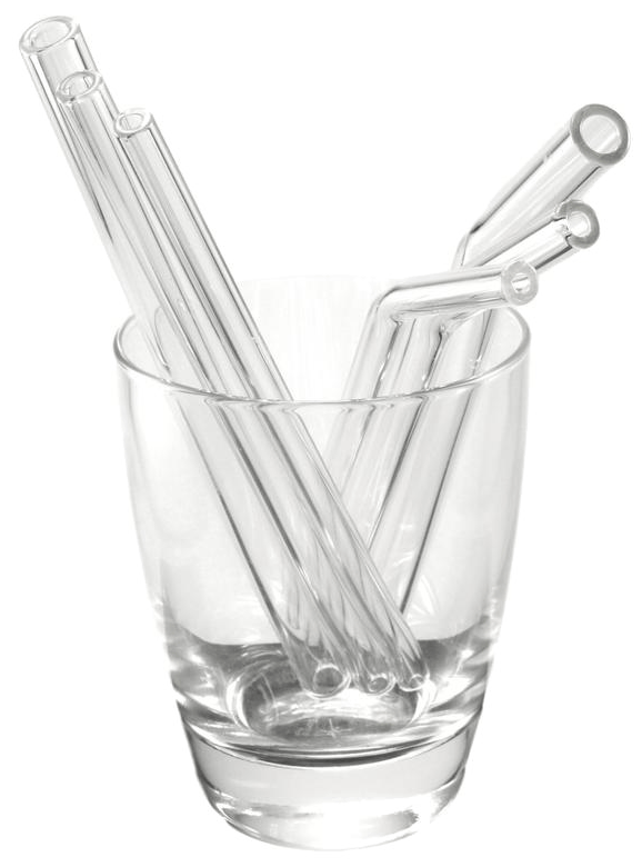Re-usable Glass Straws