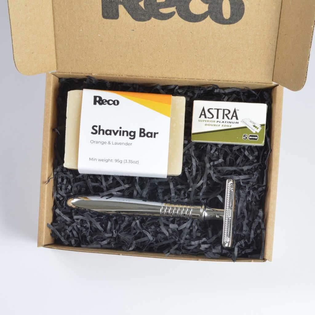 Reco Plastic-free Shaving Starter Kit