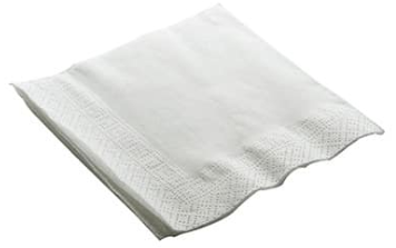 Recycled Cocktail Napkin 2ply – White – 250 x 250mm