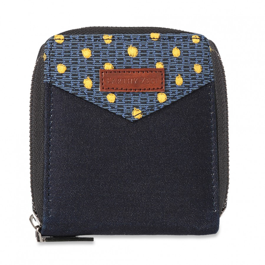 Recycled Denim Women's Wallet