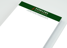 Recycled Letterheads & Compliment Slips