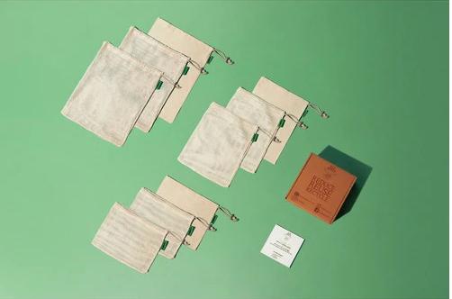 Reusable Produce Bags Organic Cotton